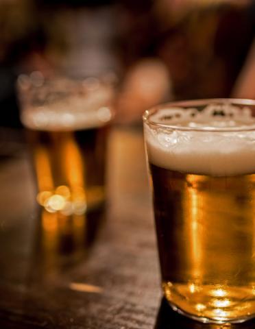 Beer & cocktails